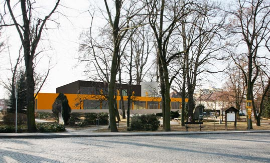 cultural center through the parc